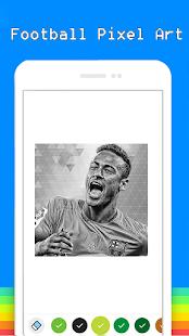 Football Celebrity Pixel Art Adult Color By Number