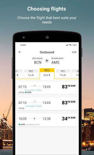 Vueling - Cheap Flights apktram screenshots 2