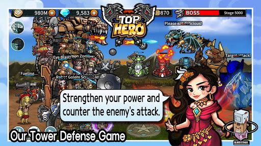 Top Hero - Tower Defense 1.04.05 screenshots 1