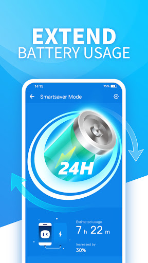Battery Saver-Ram Cleaner, Booster, Monitoring  screenshots 2