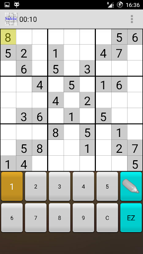 Sudoku free App for Android 2.0 screenshots 1