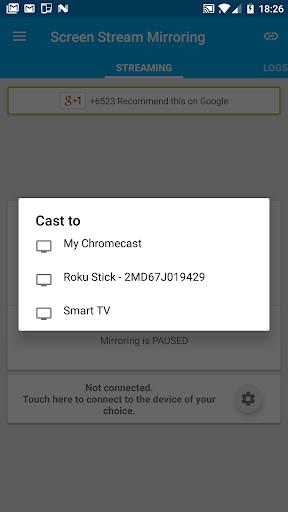 Screen Stream Mirroring Pro screen 1