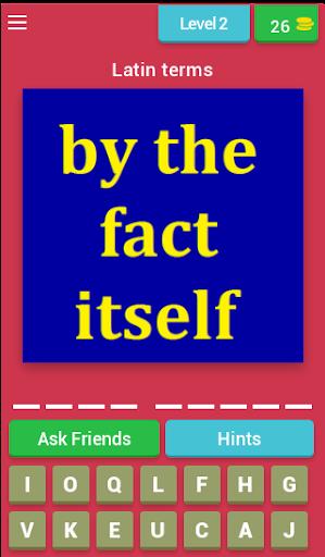 legal terms quiz (legal dictionary quiz) screenshot 2