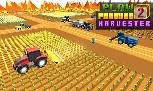 blocky plow farming harvester hack