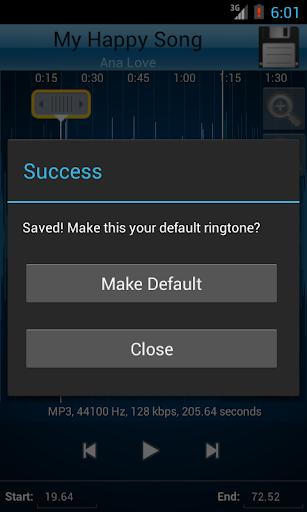 MP3 Cutter and Ringtone Makeru266b 2.5 Screenshots 5