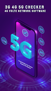 3G 4G 5G Checker : 4G VoLTE Network Software 1.0