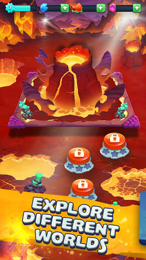 Monster Tales - Multiplayer Match 3 Puzzle Game  screenshots 2