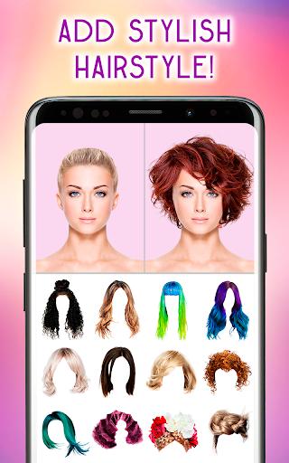 Hairstyles Photo Editor 1.3.8 Screenshots 11