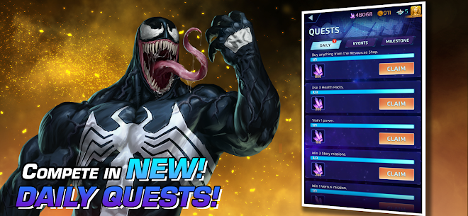 MARVEL Puzzle Quest: Join the Super Hero Battle! Apk Mod + OBB/Data for Android. 1
