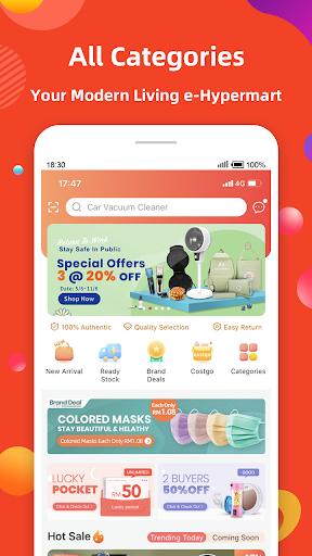 Fingo - Online Shopping Mall & Cashback Official 3.1.80 Screenshots 2