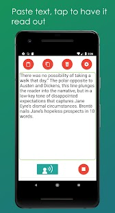 Read Out Text Aloud (Text to Speech) Screenshot