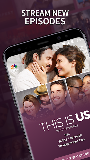 The NBC App - Stream Live TV and Episodes for Free 7.17.1 Screenshots 1