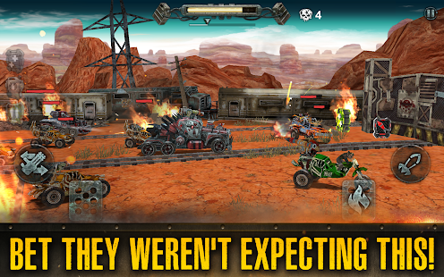 Dead Paradise: Car Shooter & Action Game 1.7 Screenshots 7