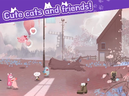 Cat Shelter and Animal Friends: Idle Relaxing Game