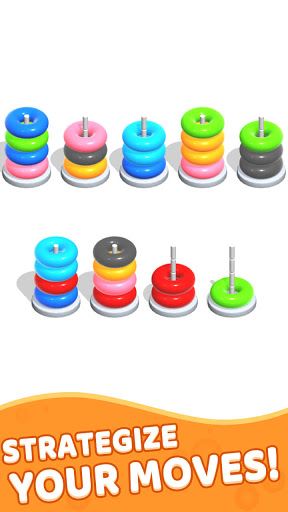 Color Hoop Stack - Sort Puzzle 1.0.7 screenshots 2