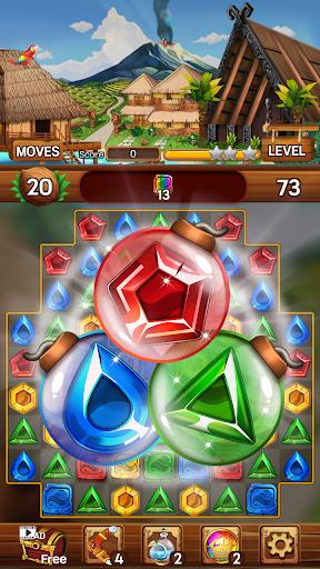 Island of Jewels: Aloha ! Match3 puzzle  screenshots 5