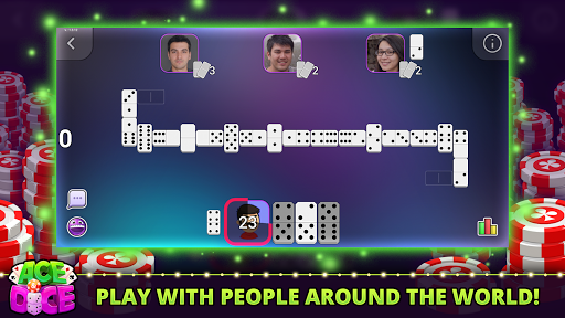 Ace & Dice: Dominoes Multiplayer Game  screenshots 1