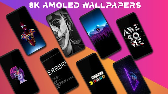 AmoledPix - 4K Amoled Wallpapers & HD Backgrounds Screenshot