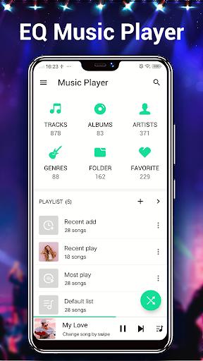 Music Player - MP3 Player  screenshots 2
