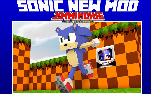 Sonic For Minecraft Free Skins Addon and New Map! 1.0 screenshots 1