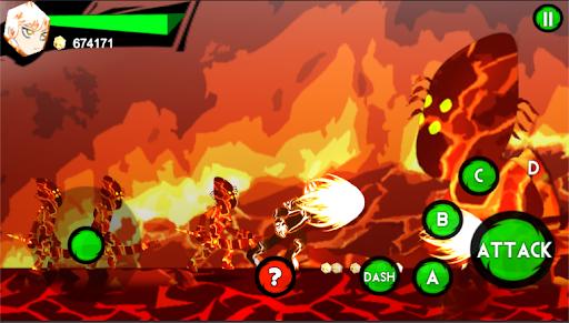 Super Boy Ultimate Power of Alien FIre Blast  screenshots 4