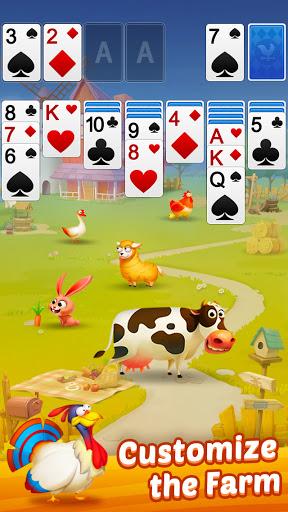 Solitaire - My Farm Friends apktram screenshots 13