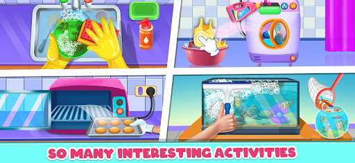 Big Home Makeover - House Cleaning Game for Girls 3.0 screenshots 2