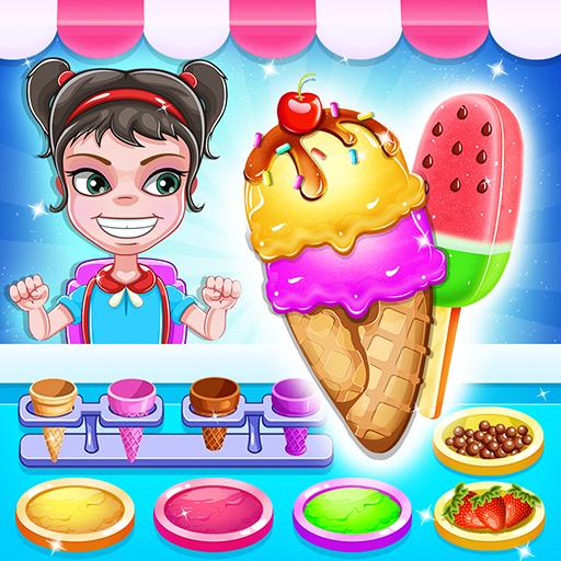 मेरे बर्फ मलाई बैठक - निर्माता आइसक्रीम खेल
