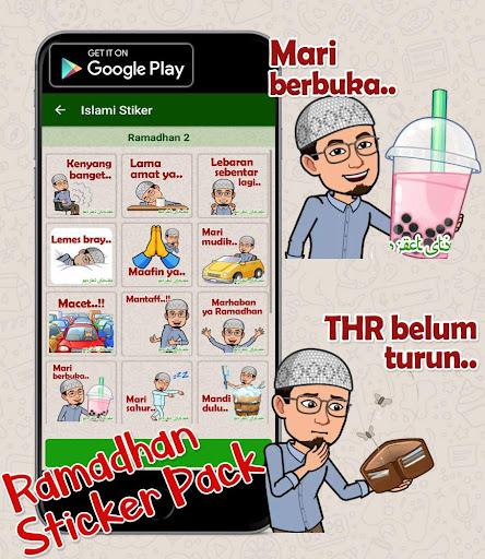 Puasa Ramadhan Stiker 2020 Islami WastickerApps  screenshots 5