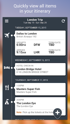 TripCase u2013 Travel Organizer screenshots 4