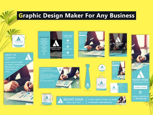 Brand Maker - Logo Maker, Graphic Design App 12.0 Screenshots 12