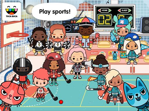 Toca Life: After School android2mod screenshots 1