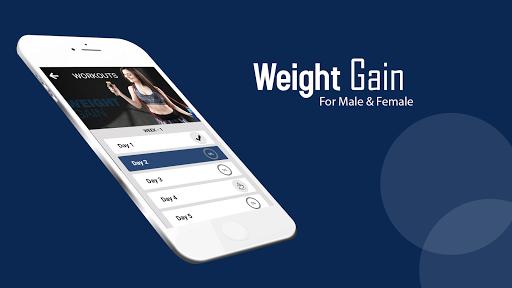 Weight Gain Home Workout Tips: Diet plan screenshots 2