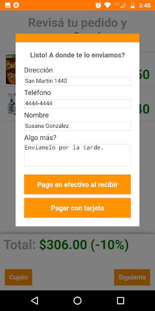 Captura de Pantalla 3 de Distribuidora Monarca para android