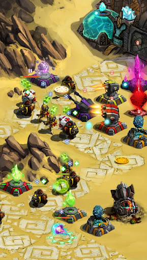 Ancient Planet Tower Defense Offline  screenshots 4