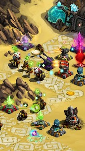Ancient Planet Tower Defense Offline MOD APK (Unlimited Money) 4