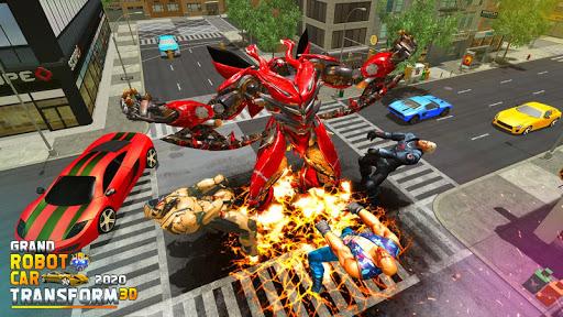 Grand Robot Car Transform 3D Game 1.35 screenshots 11