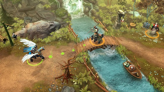 Lords of Discord: Turn-Based RPG & Strategy games Screenshot