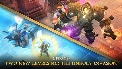 Dungeon Hunter 5 u2013 Action RPG 5.3.0f screenshots 2