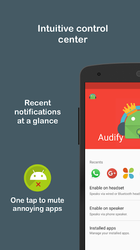 Audify Notifications Reader 3.5.0 Screenshots 7
