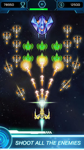 Galaxy Attack Space Shooter: Spaceship Games 1.4 screenshots 4