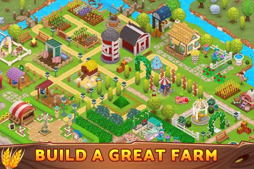 Harveston - Island in the Sky: The Farm Simulator screenshots 2