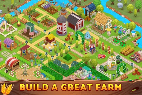 Harveston – Island in the Sky  The Farm Simulator Apk 4