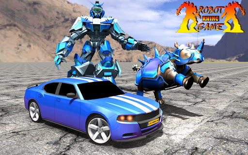 Rhino Robot Car Transformation: Robot City battle 0.6 screenshots 7