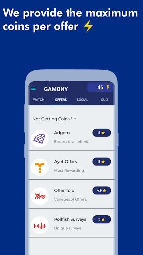 Gamony : Free Rewards  screenshots 8