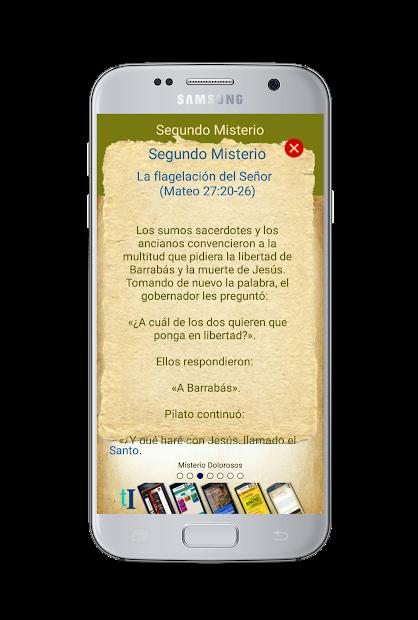 Captura de Pantalla 8 de Santo Rosario con Audio para android
