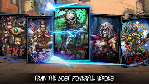 Clone Evolution: Cyber War-Borderlands Fantasy  screenshots 4