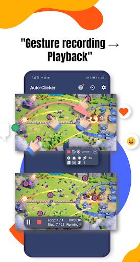 Auto Clicker 2021 - Automatic tap app for games apktram screenshots 2