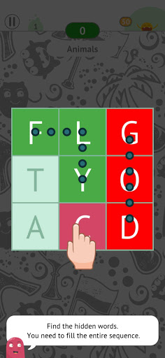 Find The Words - search puzzle with themes  screenshots 1