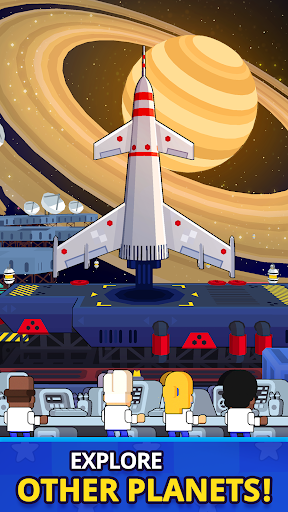 Rocket Star - Idle Space Factory Tycoon Game screenshots 3